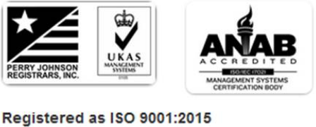 Forrest Technical Coatings ISO Certifications